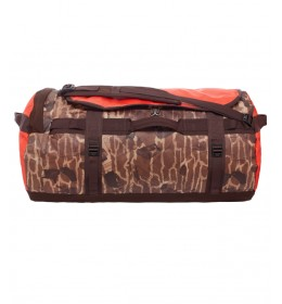 The North Face Base Camp Duffel bruin - maat L