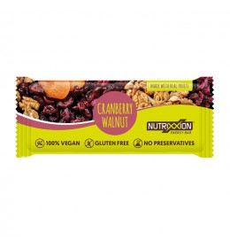 Nutrixxion reep cranb walnut 40g