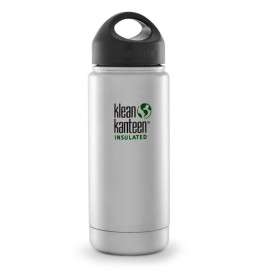 Klean Kanteen 470 ml Wide Insulated (RVS Loop Cap)