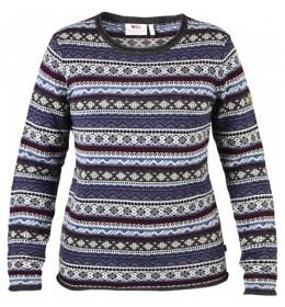 FjallRaven Övik Folk Knit Sweater Damestrui