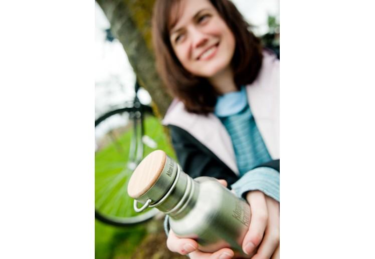 Klean Kanteen 530 ml Reflect (RVS Unibody Bamboo Cap)