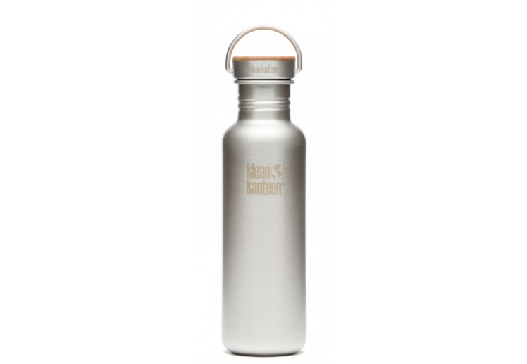 Klean Kanteen 800 ml Reflect (RVS Unibody Bamboo Cap)
