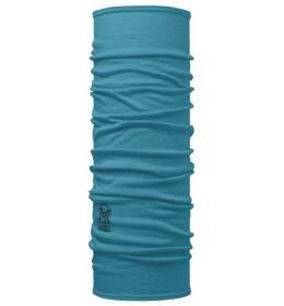 Buff Merino Wool Solid blue Capri
