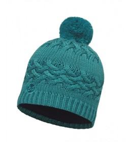 Buff® Knitted en Polar Hat Savva Blue Capri