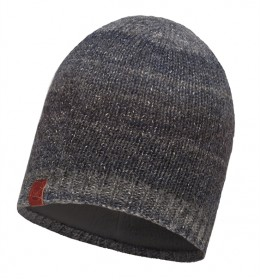 Buff Knitted & Polar Hat Liz Dark Navy