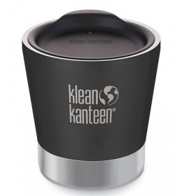 Klean Kanteen Insulated tumbler 8oz Lid Shale Black