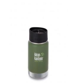 Klean Kanteen 12oz Wide Vacuum Insulated vinyard green