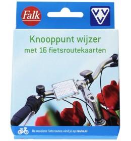 Falk-VVV Knooppunter inclusief 16 VVV Fietsroutekaarten