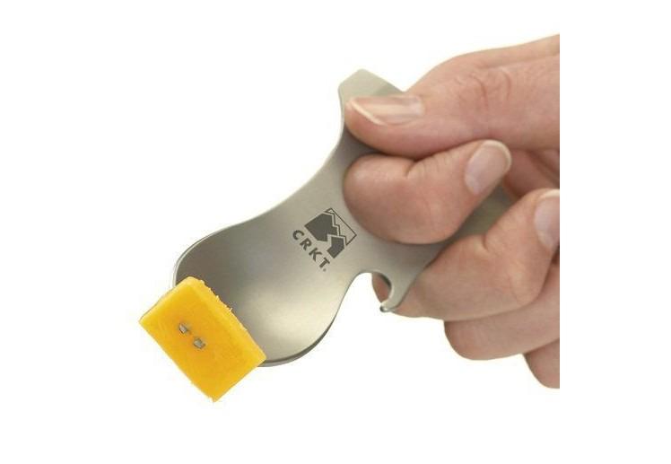 Eat n Tool 8 functies inclusief vork en lepel Zwart