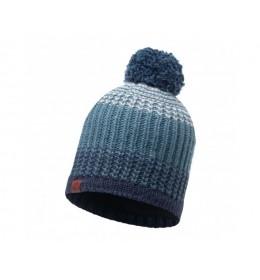 Buff Knitted & Polar Hat Borae Mazarine Blue