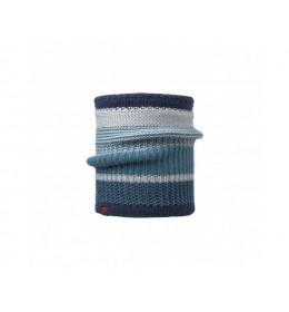 Buff Knitted & Polar Neckwarmer Comfort Borae Mazarine Blue