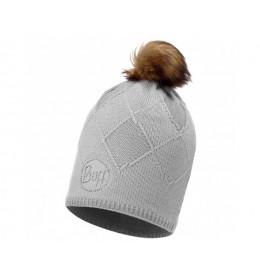 Buff Knitted & Polar Hat Stella Glala Glacier Grey Chic
