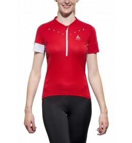 Odlo Isloa Bike s/s 1/2 zip damesshirt
