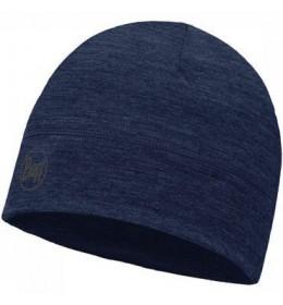 Buff Lightweight Merino Wool Hat Solid Demim