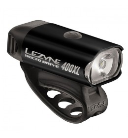 LEZYNE HECTO DRIVE 400XL BLACK/HI GLOSS