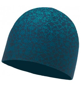 Buff Microfiber Reversible Hat Ivana Blue Capri