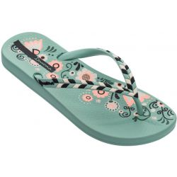 Ipanema Anatomic Lovely damesslipper - Green/Green/Black