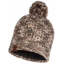 Buff Knitted & Polar Hat Margo Brown Taupe
