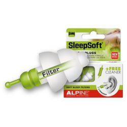 Alpine SleepSoft Minigrip earplugs, met uitneemhulp