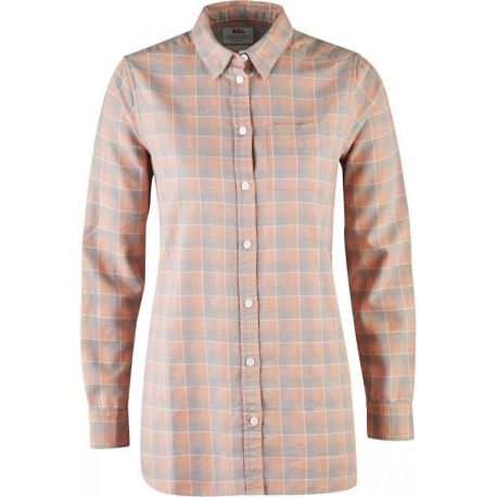 FjallRaven High Coast Flannel Damesshirt Lange Mouw
